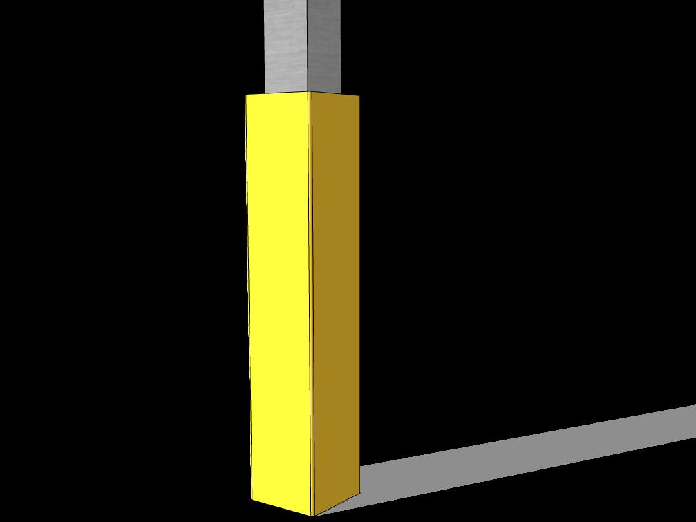 Saulenschutzpolster